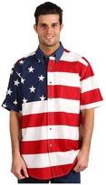 Roper Stars & Stripes Pieced Flag Shirt S/S
