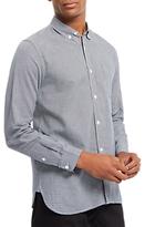 Jaeger Jacquard Shirt, Navy
