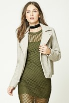 Forever 21 Textured Moto Jacket