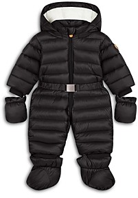 Save The Duck Boys' Hooded Quilted Onesie - Baby