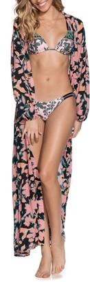 Maaji Love Vine Long Sleeve Maxi Cover-Up Dress