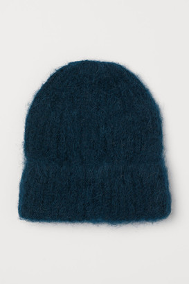 H&M Wool-blend Hat - Turquoise