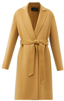 Joseph Cenda Wool-blend Wrap Coat - Camel