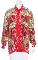 Gianni Versace Vintage Silk Top