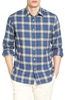 Billy Reid Men's Tuscumbia Graduated Check Sport Shirt