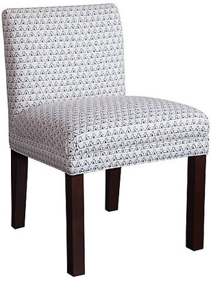 Imagine Home Darby Side Chair - Navy/White