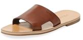 Prada Leather Slip-On Sandal