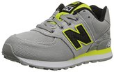 New Balance KL574 Pre Lace-Up Running Shoe (Little Kid)