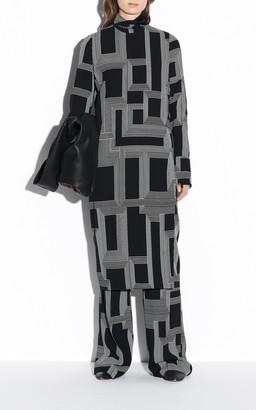 Joseph Darlan Sanctuary Print Crepe Maxi Dress