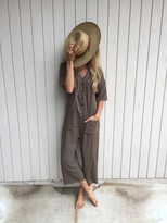 Tysa Playdate Jumpsuit in Olive