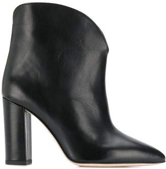 Paris Texas Leather Ankle Boots