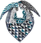 Hermes Manufacture De Boucleries Cashmere Silk Shawl w/ Tags