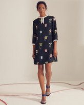 Ted Baker Telephone print shift dress