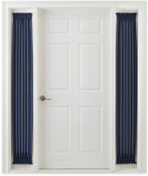 Royal Velvet Plaza Thermal Interlined Rod-Pocket Sidelight Panel