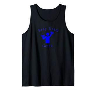 Fitness Quote Workout and Exercise Tank Top