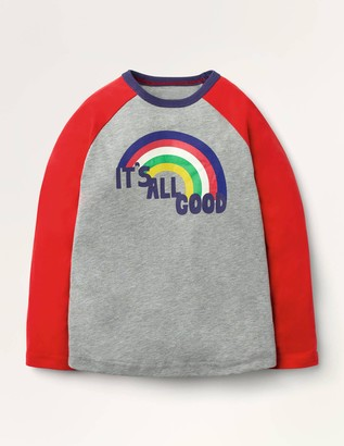 Rainbow Raglan T-shirt
