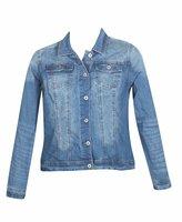 Revolt Plus Size Denver Denim Jacket -Size: Color: