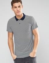 Esprit Stripe Jersey Polo Shirt