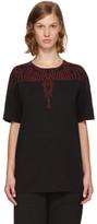 Marcelo Burlon County of Milan Black Mawida T-shirt