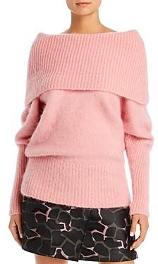 Giorgio Armani Emporio Oversized Off-the-Shoulder Sweater