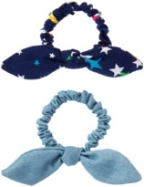 Crazy 8 Bow Scrunchies 2-Pack