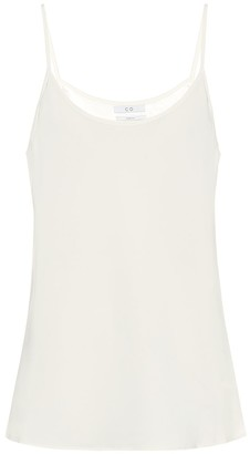 Co Stretch-crepe camisole