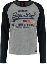 Superdry Shop Surf Long Sleeved Top Cliff Face Grey Snowy