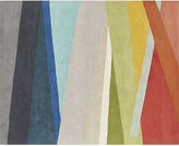 CB2 Banded Color Stripe Rug 8'x10'