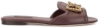 Dolce & Gabbana Amore slide sandals