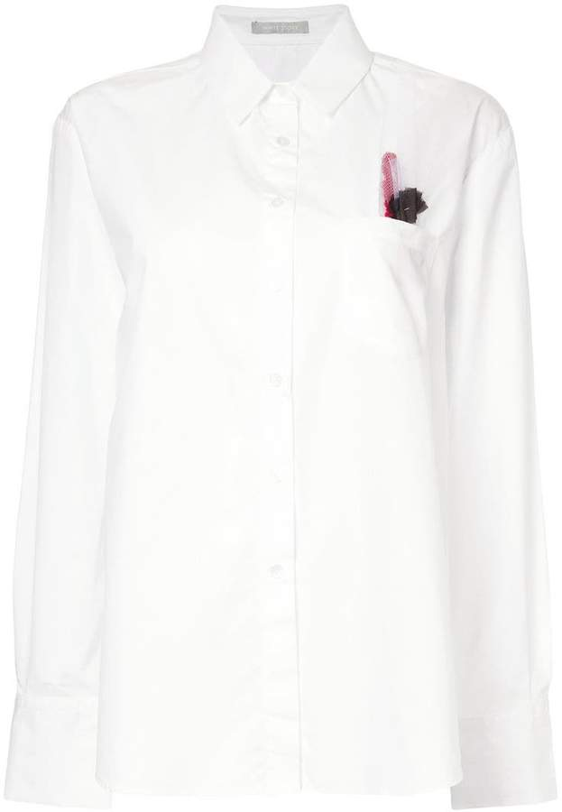 story. White Alyssa shirt