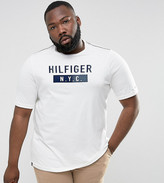 Tommy Hilfiger PLUS Brad T-Shirt NYC Logo in White