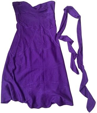 Christian Dior Purple Cotton Dresses