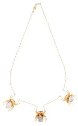 Daniela Villegas Hecate Keshi Pearl & Gold Pendant Necklace - Pearl