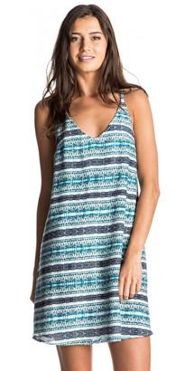 Roxy Women's Soft Addict Printed Strappy Dress