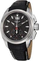 Alpina Men's AL353B4RC6 Analog Display Swiss Quartz Black Watch