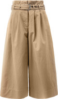 Maison Margiela cropped wide leg trousers - women - Cotton - 38