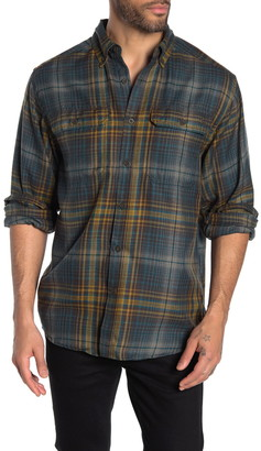 Wolverine Escape Plaid Flannel Regular Fit Shirt