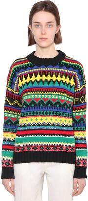Polo Ralph Lauren Relaxed Wool Blend Knit Sweater