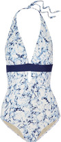 Tart Collections Amaris printed halterneck swimsuit