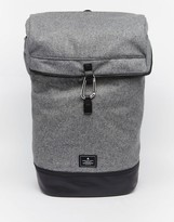 Asos Backpack In Gray Melton