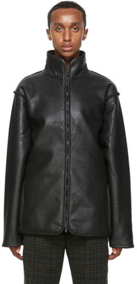 Needles Black Lined Boa Jacket