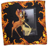 Givenchy Multicolor Bambi Printed Scarf w/ Tags