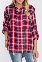 Velvet Heart Red Plaid Shirt