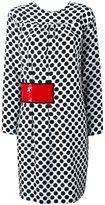 MSGM polka dot print dress