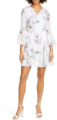 Ted Baker Vivvia Woodland Burnout Mini Dress