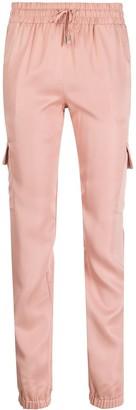Liu Jo Drawstring-Waist Cargo Trousers