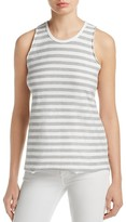 Nation Ltd. Lacey Muscle Stripe Tank