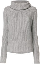 Blugirl roll-neck knitted sweater