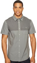 The North Face Short Sleeve Block Me Shirt ) Men's Short Sleeve Button Up