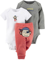 Carter's 3-Piece Bodysuit & Pants Set